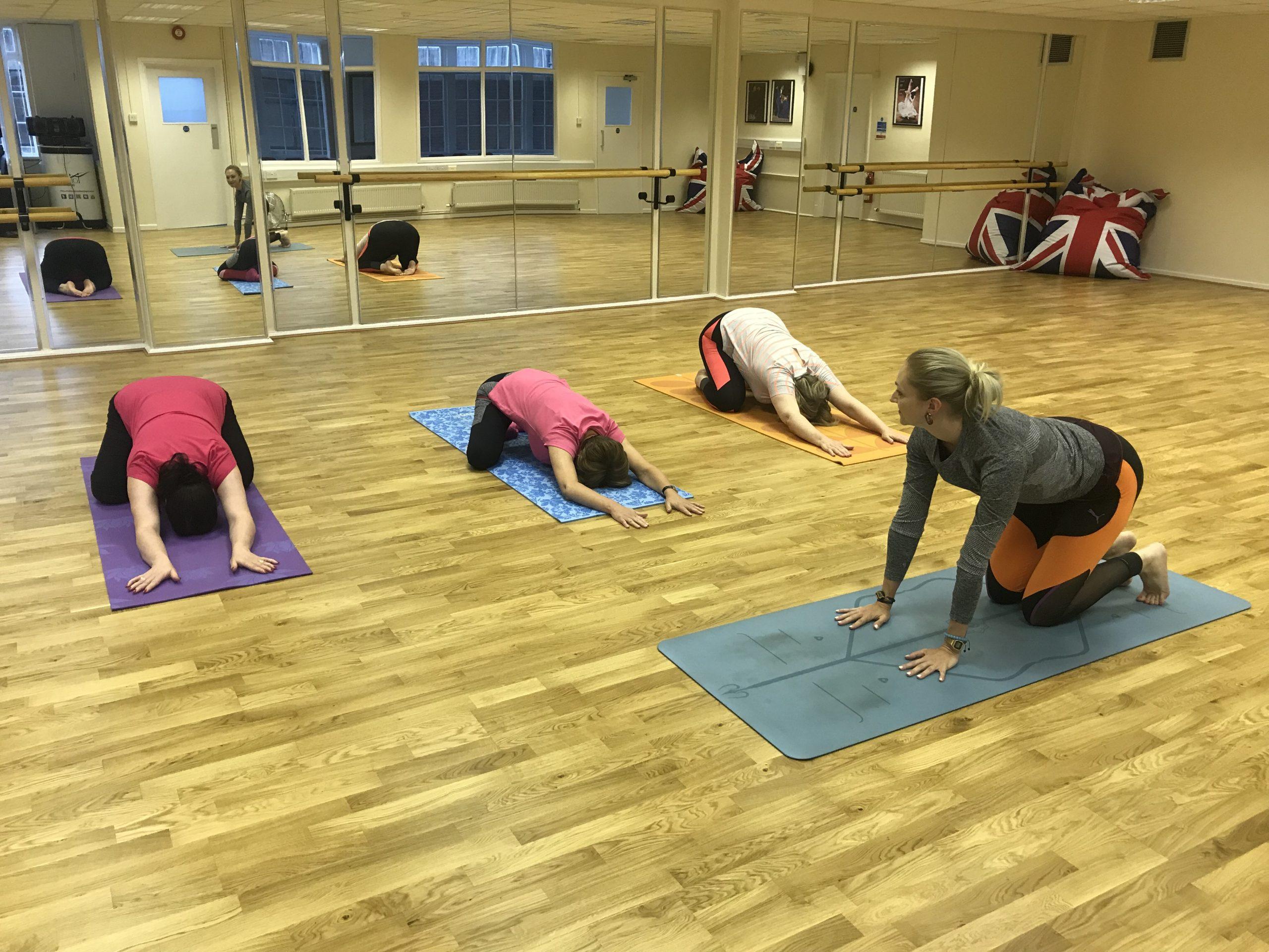 Friday Yin Yoga (on Zoom)